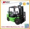 Vmax марки 3,5 тонны дизельного двигателя вилочного погрузчика с японским Isuzu двигатель