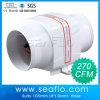 Ventilador Inline do ventilador de ar da C.C. de Seaflo 270cfm