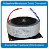Modificar el transformador para requisitos particulares toroidal para la fuente de corriente ALTERNA