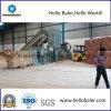 Horizontale Automatische Pers voor Papierafval met Duurzame Transportband