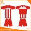 Usure faite sur commande de sport du Jersey du football de sublimation de chemise
