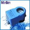 Mètre d'eau sans fil en plastique avec le contrôle de soupape
