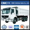 쓰레기꾼 화물 자동차 팁 주는 사람 덤프 트럭을 기울이는 Sinotruk HOWO Euro2 6*4 420HP