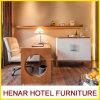 Tabella e presidenza di scrittura di legno per l'insieme della mobilia della camera da letto dell'hotel