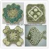 Seul Tableau de tricotage à la main Tablemat/Placemat/Coaster/Cupmat décoratif