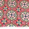 Polyester-Baumwollterry-Rayon-rotes Blumen-Gewebe T-/C6535 für Ältestes