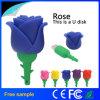 Movimentação romântica do flash do USB de Rosa do melhor presente relativo à promoção