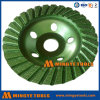 Абразивный диск Turbo алмазных резцов истирательный для полируя бетона и мрамора