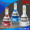 6000lm 25W Auto Lamp LED Phare Phare antibrouillard