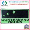 Staatsflagge-Kleber-Rückseiten-Stickerei-Abzeichen, Tuch-Änderung am Objektprogramm