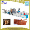 Chaîne de production en plastique d'extrusion de panneau de voie de garage de bande de cachetage de PVC