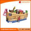 膨脹可能で幸せな動物園公園の海賊船のおもちゃ(T6-606)