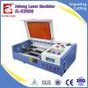 Prix acrylique en verre en bois de machine de gravure de laser de CO2 de tissu de qualité