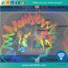Folha de laser com holograma laminado de PVC Cartão Anti-Counterfeit Sobreposição