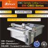 Papel corrugado el cartón de la junta de plástico gris plotter de corte perforadora Punzonadora CNC