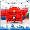 Eixo gêmeo eficiente elevado do misturador concreto da série 3000L de Js