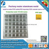 Muffa di produzione del contrassegno del PVC della fabbrica 6*6 dell'incisione per la macchina d'erogazione del PVC