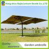 paraguas de lujo voladizos cuadrados del patio de los 3X3m