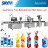 Frasco de vidro Carbonated 3 de máquina de enchimento da bebida em 1