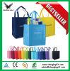 Vente en gros non tissée bon marché de sac d'achats estampée par logo