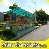 Personnalisé de la rue de plein air Bus abris préfabriqués