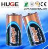 1.5V D super alkalische Batterie LR20 der Größe