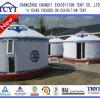 Estilo Mongonlian ao ar livre Yurt da natureza com toalete