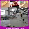 Tipo máquina do descanso de empacotamento da máquina de embalagem do fluxo do alimento do pão
