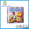 Impresión de encargo del libro de niños de la tarjeta de papel