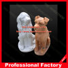 Home 정원 Decoration를 위한 개 Marble Statue Marble Sculpture