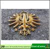 Emblema del metallo dell'oro di marchio dell'azienda