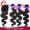 ボディ波100%のブラジルの人間のバージンの毛のRemyの毛
