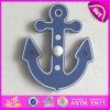 2015 나무 Coat Hook, Hang Clothes, Wooden Cartoon Clothes Hook, Clothes Hang Hook, Hot Sale Wooden Coat Hook W09b068에 Cartoon Hook