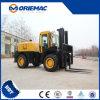 Terreno Forklift Cpcd50 di Yto 5 Ton 4X4 Diesel Rough