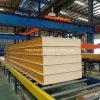 PU/PUR/PUF/PIR 50mm/100mm/150mm/200mm de isolamento de espuma do painel do tipo sanduíche de fogo para parede/teto e sala fria
