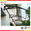 Polycarbonat-Tür/Fenster-Kabinendach, Markise, deckend ab