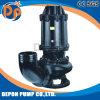 Pompa sommergibile della taglierina delle acque luride di trattamento di acque di rifiuto con l'agitatore