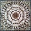 Het vierkant Gevormde Marmeren Medaillon van het Mozaïek van de Steen van de Vloer