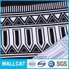 Qualität blich Satin-Streifen-Gewebe der 100% reines Baumwolle3cm
