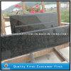 Bancadas verdes Prefab do console de cozinha do granito de Ubatuba Brasil (bom preço)
