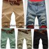 Mens Curto Jeans Calça casual
