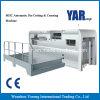 Máquina cortando da série de Mhc & vincando automática com descascamento (sistema de aquecimento)