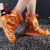 Waterproof Shoes Cover de chaussure de mode de couverture de fleur d'impression de Madame sexy