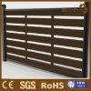 WPC合成の木製のPlastiecの新しいデザインアルミニウム塀のトレリス: 90*25mm
