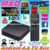 공장 Price Original Best Mxq Android 텔레비젼 Box Mxq Amlogic S805 Quad Core 말리 450MP 1GB/8GB 4k Full HD 1080P