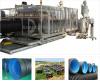 Linea di produzione ondulata doppia della conduttura dell'HDPE