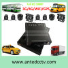 sistema de seguridad móvil del CCTV del video del coche del vehículo de 3G 4G HD 1080P DVR con la cámara granangular de 4 HD con el seguimiento del GPS
