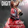 Шарф шарфа способа 100% поли напечатанный цифров