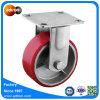 Rigid Plate Polyurethane Wheel with 1000 Lb Total Capacity