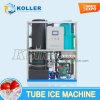 5 т/день Ice Crystal трубы Ice Maker с программируемым логическим контроллером управления программы
